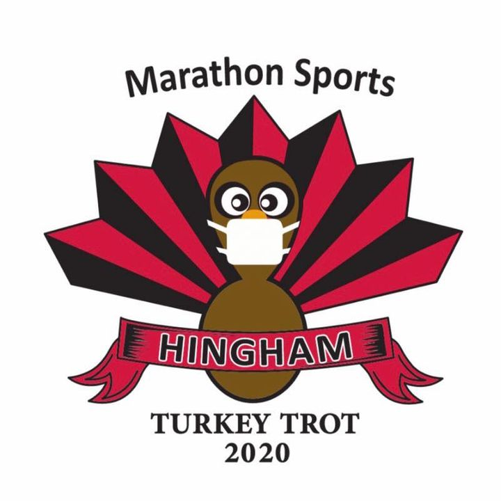 Hingham's annual Turkey Trot looked slightly different this year as participates as the race was held virtually.