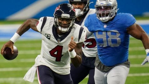 Houston Texans quarterback Deshaun Watson dominates the Detroit Lions.
