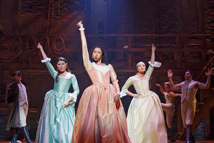 """Streaming service Disney + capitalized on the coronavirus-imposed shutdown of Broadway by releasing its film adaptation of """"Hamilton"""" a year early."""