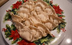 My favorite part was folding the dumplings!