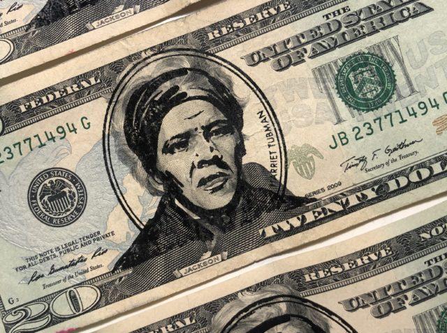 Previously, Harriet Tubman was stamped onto 350 $20 bills.