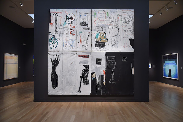The Amazing works of Jean-Michel Basquiat and friends on display at the Boston MFA Writing the Future Exhibit through May 16, 2021