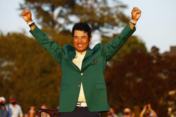 Hideki Matsuyama became the first Japanese male player to win a PGA Masters major last Sunday.