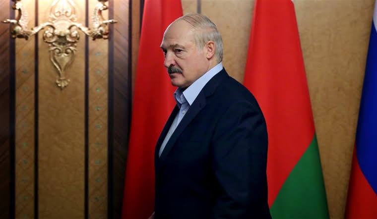 Belarussian dictator Alexander Lukashenko, responsible for the grounding of the Ryanair jet.