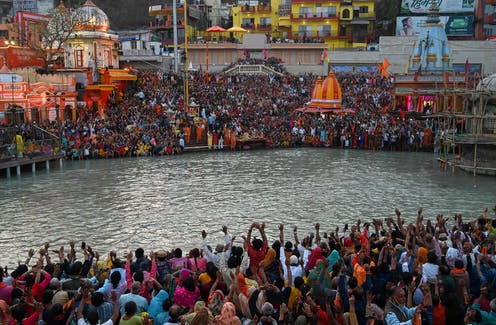 Indians gathered and celebrated the Kumbh Mela festival, one of the world's largest religious gatherings.