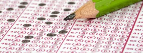 A snapshot of a standardized testing scantron, much like those utilized for MCAS testing.