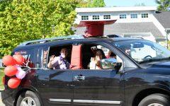 Navigation to Story: Seniors Celebrate with a Car Parade