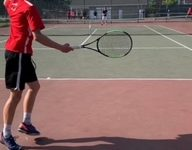 Navigation to Story: Hingham Boys Tennis Beats Rival Plymouth North in a 3-2 Victory
