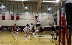 Navigation to Story: Hingham Girls Volleyball Team Takes Out Plymouth South to Remain Undefeated